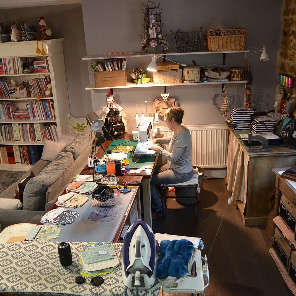 Photo de l'atelier à Montélier
