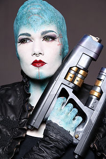 special effects makeup. special makeup effects. prosthetic makeup. alien. guardians of the galaxy. IMATS