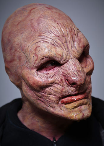 special effects makeup. special makeup effects. prosthetic makeup. monster. demon. beast