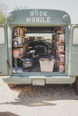 Bombay Beach Book Mobile