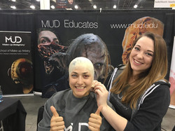 Bald Cap for Demo at Monsterpalooza