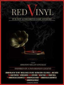 Red Vinyl Movie Poster