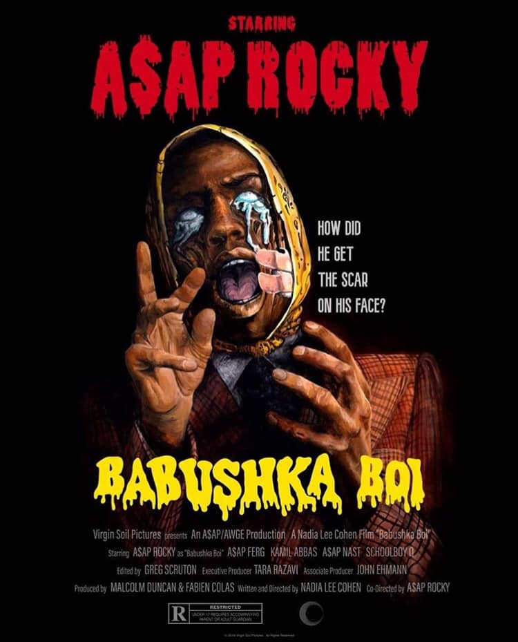 Babushka Boi Video for A$SAP Rocky