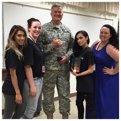 Hawaii Military Moulage Makeup Team