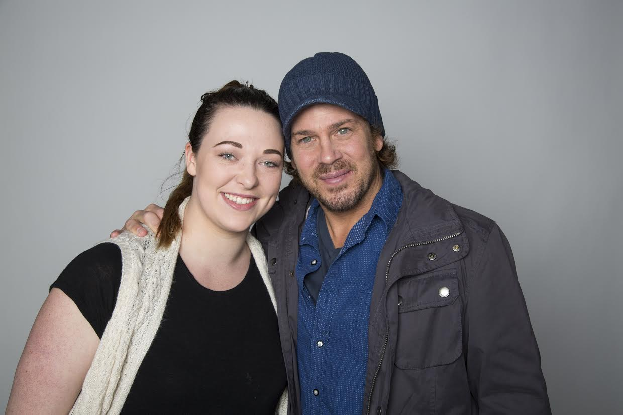 On Set With Christian Kane