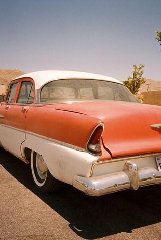 Vintage Car Desert