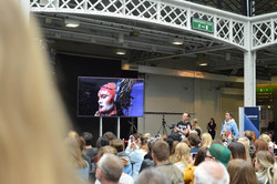 Queen Cylos on Stage IMATS London