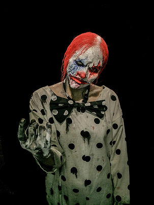 special effects makeup. special makeup effects. prosthetic makeup. clown. face paint
