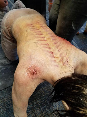special effects makeup. special makeup effects. prosthetic makeup. demon