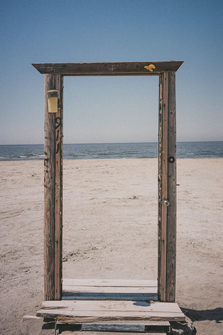 Bombay Beach Door to Nowhere