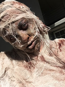special effects makeup. special makeup effects. prosthetic makeup. mummy