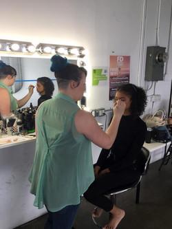 TGS Talent Launch Shoot Makeup