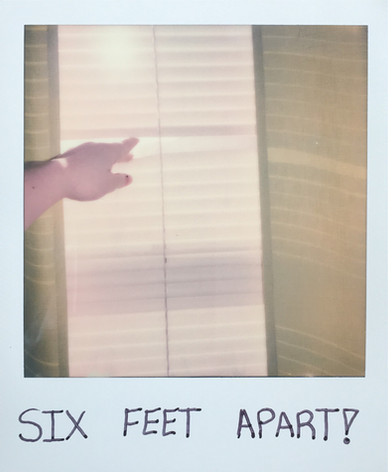 Six Feet Apart!