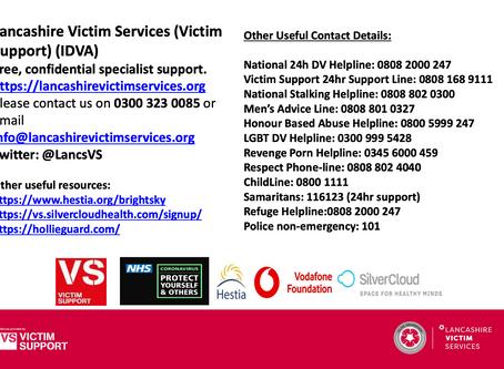Lancashire Victim Services