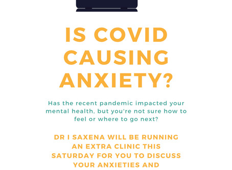 Is COVID causing your mental health to suffer?
