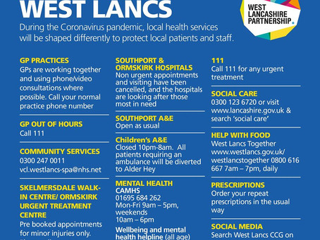 Services in West Lancs