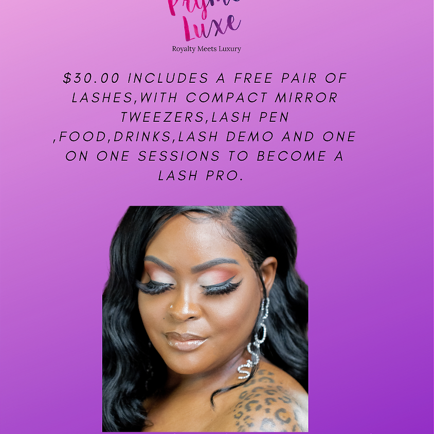 Pryme Luxe Lash Class