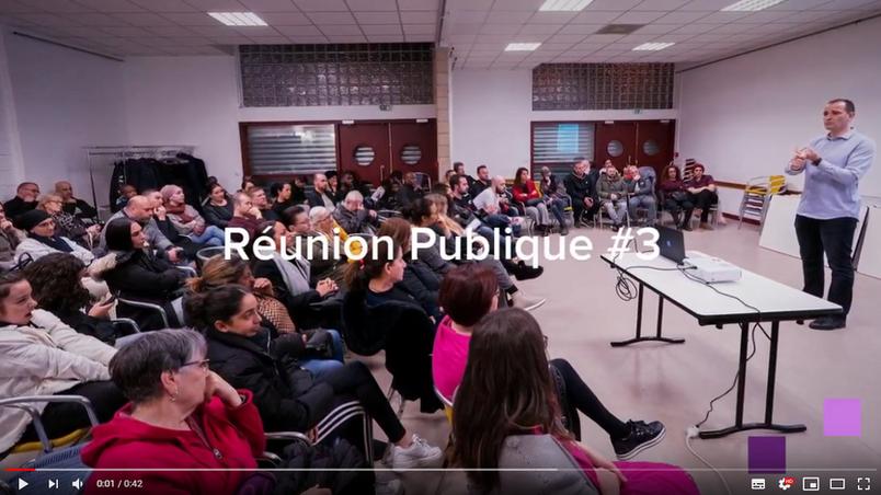 Réunion Publique #3