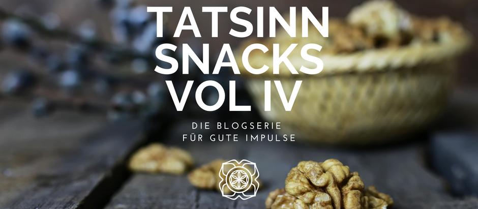 TATSINN Snacks VOL IV: Depressionen, Mann & Mission, Vergebung aus Hawaii & Feminismus