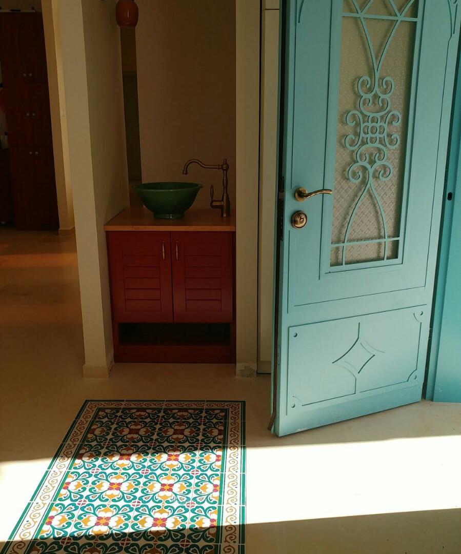 שטיח צבעוני