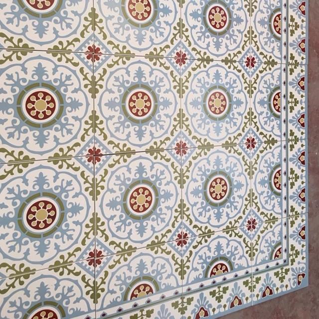 שטיח של מנדלה מורוקאית