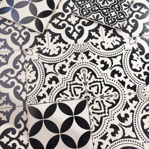 דוגמאות שחור לבן - יפו, מגזרות נייר ועיגולים