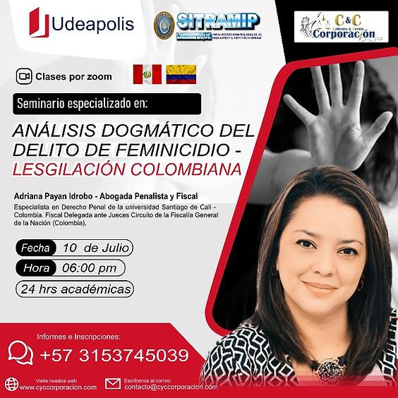 Seminario Análisis Dogmático Del Delito de Feminicidio.