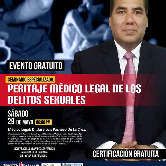 Seminario Peritaje Medico Legal de los Delitos Sexuales