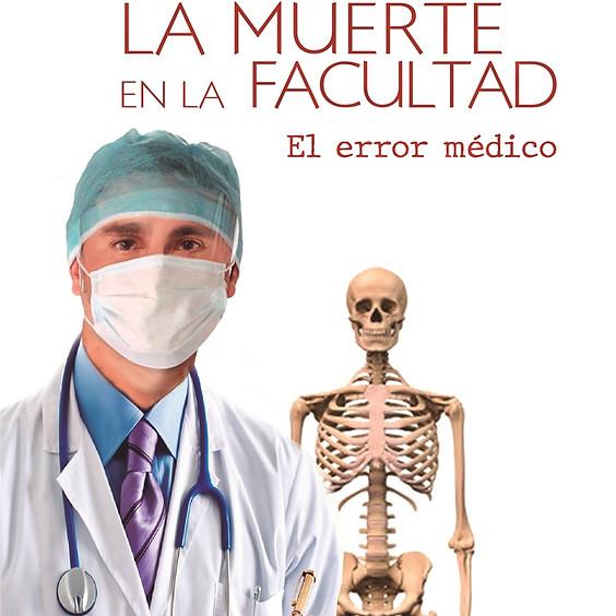"""LANZAMIENTO DE LAS NOVELAS """"LA MUERTE EN LA FACULTAD"""" - el error médico - Y """"LOS ROMANÍES Y LA MENTIRA EN EL UNIVERSO"""""""