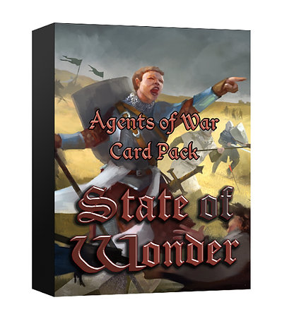 State of Wonder - Agents of War Card Pack