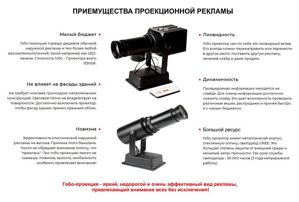 Купить Гобо проектор