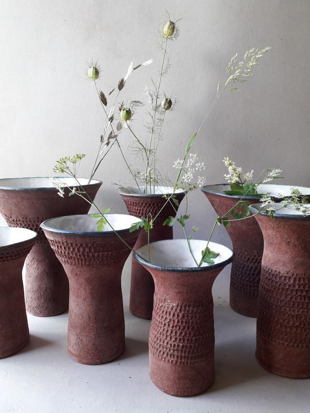 Vases Nus H=de 17cm à 25cm