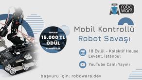 Türkiye'deki İlk Mobil Kontrollü Robot Yarışması: Robowars.dev