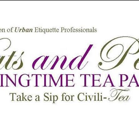 Hats & Perals SpringTime Tea Party