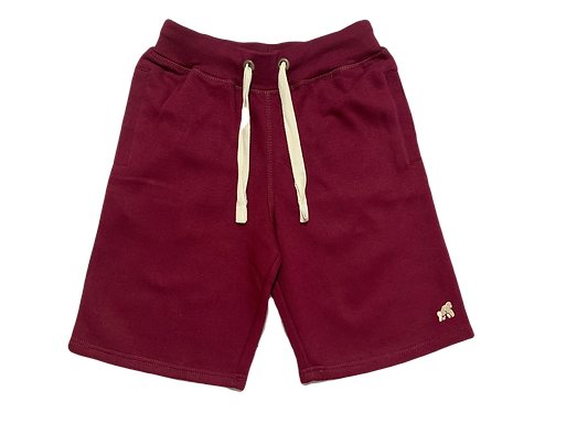 Going APE Burgundy Adult Lounge Shorts