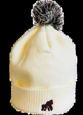 Going APE Cream Adult Winter Hat