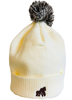 Going APE Cream Adult Winter Hat