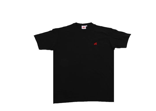 Going APE Black with Red Logo Crew Neck