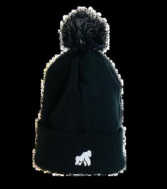 Going APE Black Adult Winter Hat
