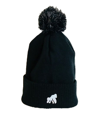 Going APE Black Adult Winter Hat