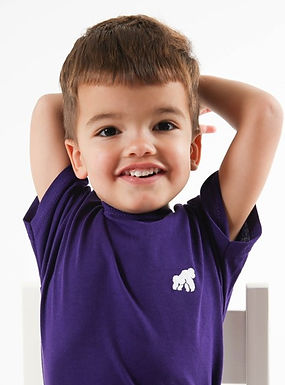 Going APE Purple Kids T-Shirt