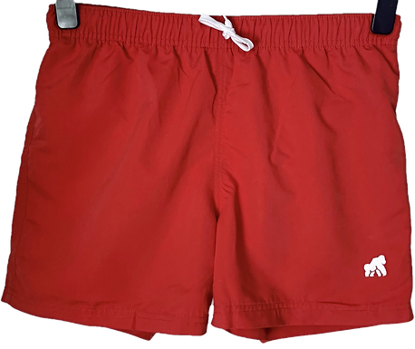Going APE Red Swimming Shorts