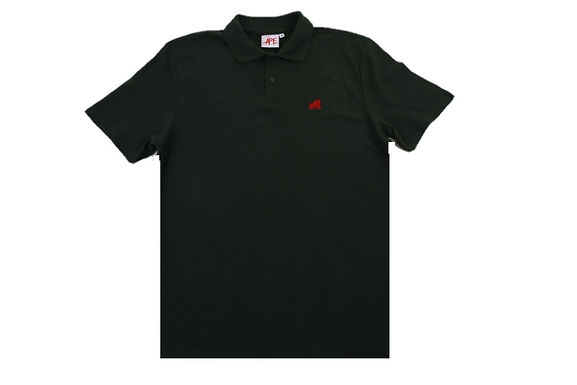 Going APE Forest Green with Red Logo Polo T- Shirt
