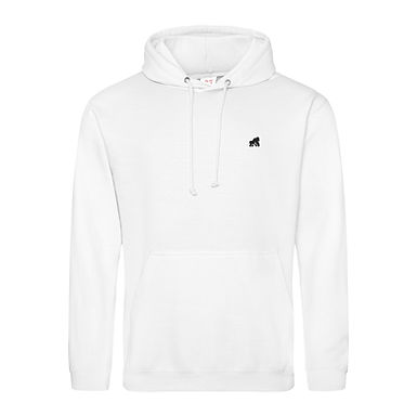 Going APE White Adult Hoodie