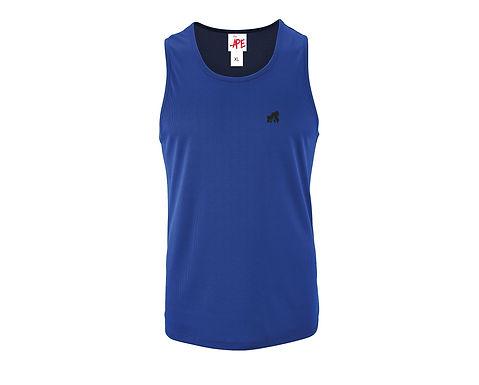 Men's Fitted Vest - Blue