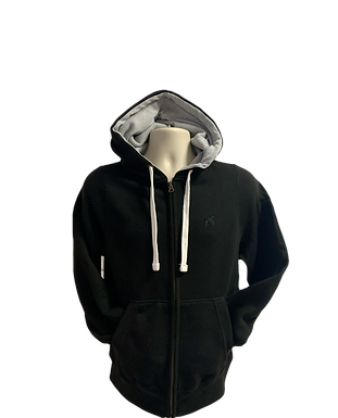 Adult Zip Hoodies -Black