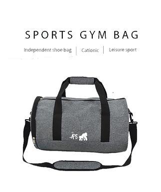 Going APE Grey Sports Bag