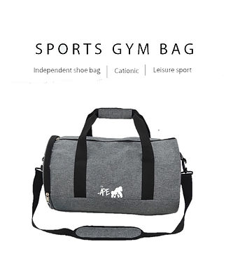 Going APE Grey Sports Bag