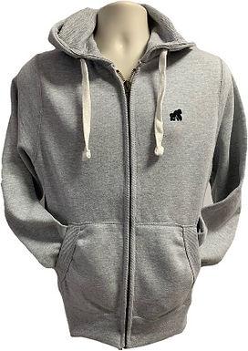 Adult Zip Hoodies - Grey