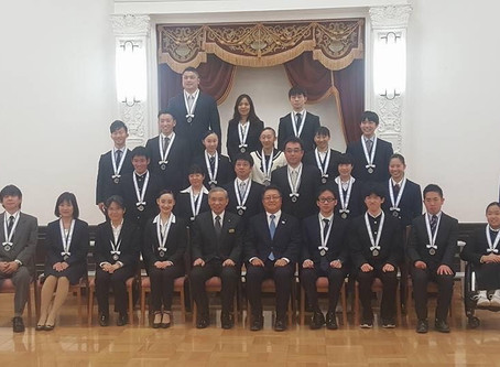 群馬県スポーツ賞顕彰式
